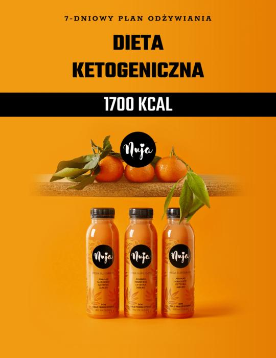 Ebook Jadłospis dieta ketogeniczna 1700 kcal
