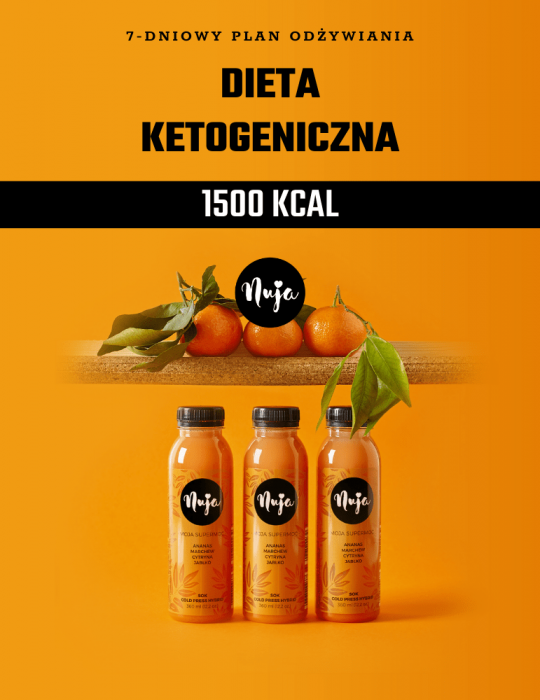 Ebook Jadłospis dieta ketogeniczna 1500 kcal