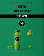 Ebook Jadłospis dieta low foodmap 1700 kcal