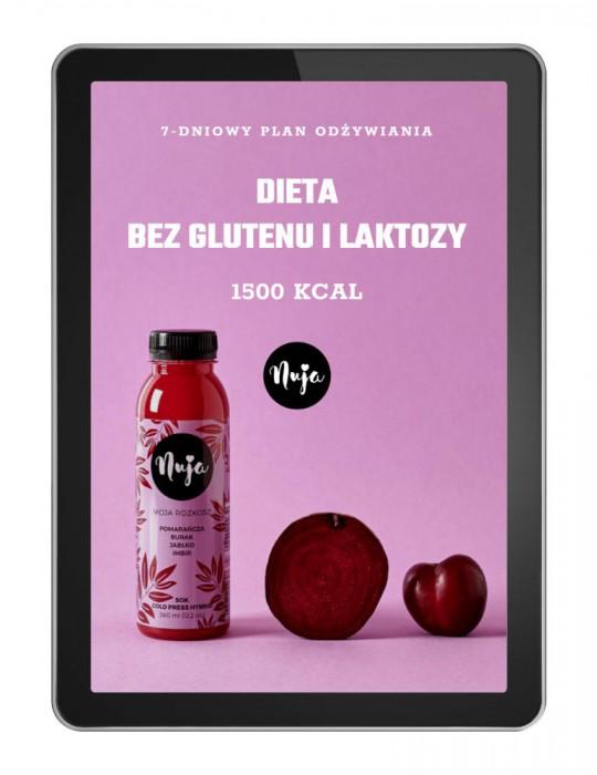 Jadłospis dieta bez glutenu i bez laktozy 1500 kcal