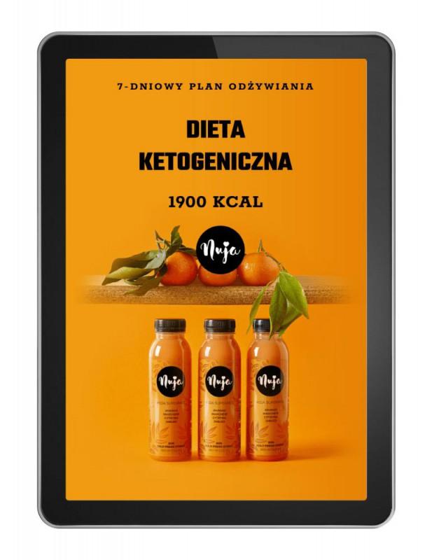 Ebook Jadłospis dieta ketogeniczna 1900 kcal