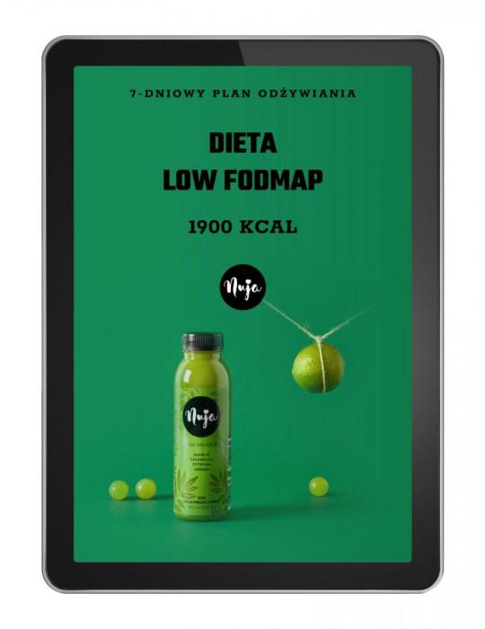 Jadłospis Dieta Low Fodmap - 1900 kcal