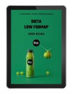 Ebook Jadłospis dieta low foodmap 1900 kcal